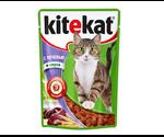 Влажный Корм Kitekat (Китекат) Для Кошек Печень в Соусе 100г (1*24)