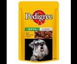 Pedigree (Педигри) Влажный Для Собак Дичь в Соусе 100Г
