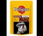Pedigree (Педигри) Влажный Для Собак Печень в Соусе 100Г