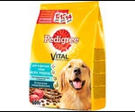 Сухой Корм Pedigree (Педигри) Vital Protection Для Взрослых Собак Говядина с Овощами 13кг