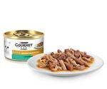 Консервы Gourmet (Гурме) Gold Для Кошек Кролик с Печенью Кусочки в Подливке Двойное Удовольствие 85г