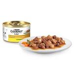 Консервы Gourmet (Гурме) Gold Для Кошек Курица с Печенью Кусочки в Подливке 85г