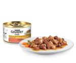 Консервы Gourmet (Гурме) Gold Для Кошек Утка с Индейкой в Подливке Двойное Удовольствие 85г