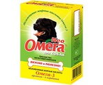 Витамины Для Собак Омега Neo с Протеином и L-карнитином 90таб
