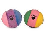 Игрушка Триол 12n Мяч Лапки Двухцветная Зефирная (1*4)