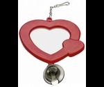 Игрушка для Птиц Ferplast Lam4212 Зеркальце Круглое/Сердце