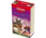 Витамины Для Грызунов Sanal (Санал) Wild Berry Drops Дропсы Лесные Ягоды 45г 740005
