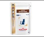 Лечебный Влажный Корм Royal Canin (Роял Канин) Для Кошек При Нарушении Пищеварения Veterinary Diet Feline Gastro Intestinal 85г (1*12)