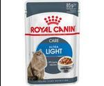 Влажный Корм Royal Canin (Роял Канин) Feline Health Nutrition Ultra Light Gravy Для Кошек Контроль Веса Аппетитные Кусочки в Соусе 85г