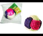 Когтеточка Triol (Триол) Мячик из Сизаля 6,5см Nt285