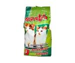 Наполнитель Для Кошачьего Туалета BRAVA (Брава) Комкующийся Бактерицидный Для Гладкошерстных Кошек и Котят 5л (1*4)