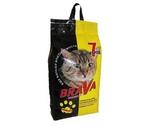 Наполнитель Для Кошачьего Туалета BRAVA (Брава) Минерал Для Короткошерстных Кошек и Котят Минеральный Впитывающий 7л (1*4)
