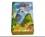 Корм Brava (Брава) Для Волнистых Попугаев Орех с Морской Капустой 500г (1*14)