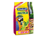 Корм Vitakraft (Витакрафт) Amazonian Для Крупных Амазонских Попугаев 750г