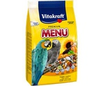Корм Для Крупных Попугаев Vitakraft (Витакрафт) Premium Menu Vital Основной 1кг