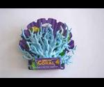 Декор Penn Plax Коралл Ветка Голубая 12см