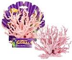 Коралл Для Аквариума Penn Plax (Пенн Плакс) Ветка Розовая 18см
