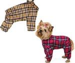 Комбинезон Для Собак Породы Йоркширский Терьер 22см Утепленный Гамма №1 Универсал