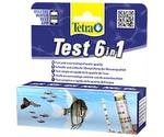 Тесты Для Воды Tetra (Тетра) 6 в 1 Gh/Kh/No2/No3/Ph/Cl Полоски Для Аквариумной Воды 25шт 175488