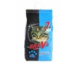 Наполнитель Для Кошачьего Туалета BRAVA (Брава) Для Длинношерстных Кошек 7л