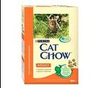 Сухой Корм Cat Chow (Кэт Чау) Adult Для Кошек Курица с Индейкой 400г