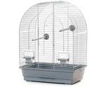 Клетка Для Птиц Inter-Zoo (Интер-Зоо) 39*25*53см Lusi-I Цинк P039