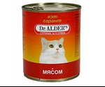 Консервы Dr.Alders (Доктор Алдерс) Cat Garant Гарант Для Кошек Говядина Сочные Кусочки в Соусе 400г