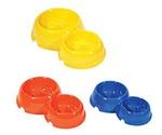 Миска Для Кошек Darell (Дарэлл) Пластиковая Двойная 150мл/250мл Rp2311