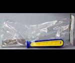 Расческа Триол 305 Сине-Желтая Пл.Ручка Редкая 19,5см