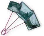 Сачок Для Аквариума Triton (Тритон) Зеленый с Красной Ручкой №4 10см