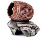 Грот Для Аквариума Бочка На Камнях К-18 Гротаква