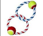 Игрушка Для Собак Buddy (Бадди) Аппорт 2-Кольца с Мячами R1070