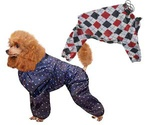 Комбинезон Для Собак Породы Пудель 31см Утепленный Гамма №3 Универсал