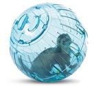 Колесо-Шар Для Грызунов Savic (Савик) Для Шиншилл, Хорьков и Кроликов Пластик 32см S199