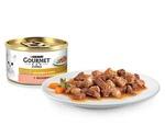 Консервы Gourmet (Гурме) Gold Для Кошек Лосось с Цыпленком Кусочки в Подливке 85г