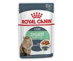 Влажный Корм Royal Canin (Роял Канин) Feline Health Nutrition Digest Sensitive Gravy Для Кошек с Чувствительным Пищеварением Аппетитные Кусочки в Соусе 85г
