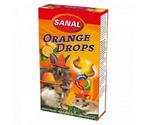 Витамины Для Грызунов Sanal (Санал) Orange Drops Дропсы Апельсин 45г