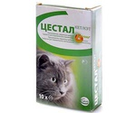Цестал Кэт Для Кошек 10 таблеток (1*10)
