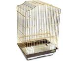 Клетка Для Птиц Золото 46,5*36*71см №6112