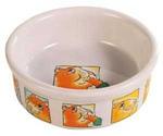 Миска Для Морской Свинки Trixie (Трикси) Керамическая с Рисунком 300мл 11,5см 62952