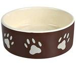 Миска Для Собак Trixie (Трикси) с Рисунком Лапка 0,3л 24531