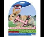Шлейка Trixie (Трикси) Для Кролика 25–44 см/10 мм с Рисунком Черепа/Кости 61491