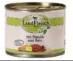 Консервы Dr.Alders (Доктор Алдерс) LandFleisch Ландфляйш Для Собак Деревенское Мясо Рубец с Рисом 195г