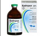 Байтрил 10% Инъекционный Раствор 100мл Bayer
