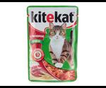 Влажный Корм Kitekat (Китекат) Для Кошек Говядина в Желе 100г