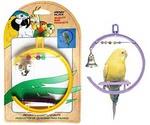 Игрушка Для Попугая Качели с Колокольчиком 3*11*15см Ва506