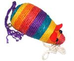 Когтеточка Мышь Цветная Сизаль Тм-2041 (24*11*9см)