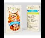 Лакомство Molina Для Кошек Куриный Сэндвич 80г