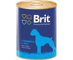Консервы Brit (Брит) Для Собак Говядина и Рис Beef Rice 850г