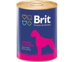 Консервы Brit (Брит) Для Собак Печень и Сердце Liver and Heart 850г